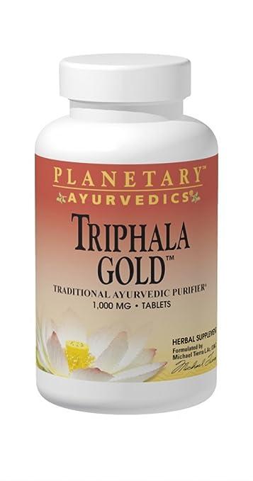 2 opinioni per Planetary Herbals, Ayurvedics, Triphala Oro, 1000 mg 120 capsule