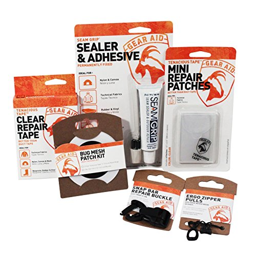 McNett Gear Aid Complete Outdoor Equipment Camping Repair Patch Seal Tape Replace Kit