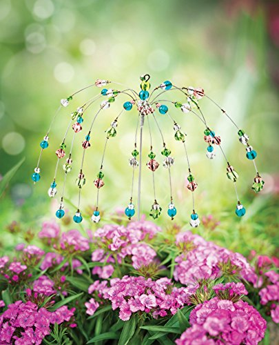 The Paragon Yard Decoration Stake - Wind Dancer Beaded Stake, Outdoor Garden Decor by The Paragon (Image #5)