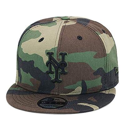 New Era 9fifty New York Mets Snapback Hat Cap Woodland Camo Print