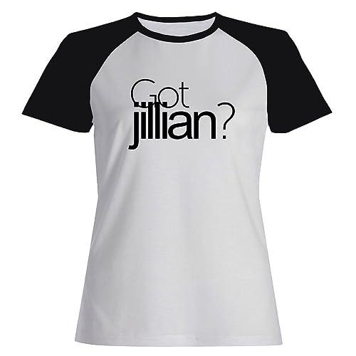 Idakoos Got Jillian? – Nomi Femminili – Maglietta Raglan Donna