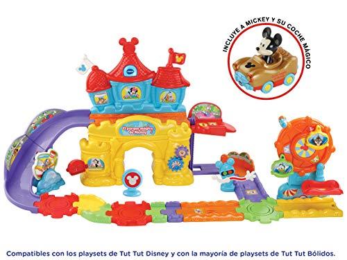 Vtech Ball Disney - TUT TUT Balls Disney Vtech 3480-512422 Mickey Dollids and Their Park of Attractions Circuit, Colour