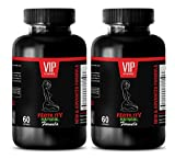 sexual desire for women - FEMALE FERTILITY NATURAL FORMULA - damiana supplement - 2 Bottles 120 Capsules