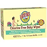 Earth's Best Tender Care Baby Wipes - Unscented - 432ct