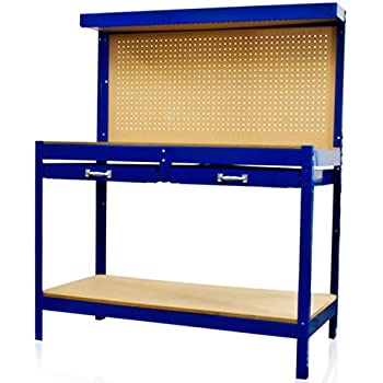 Amazon Com Best Choice Products Steel Work Bench Tool