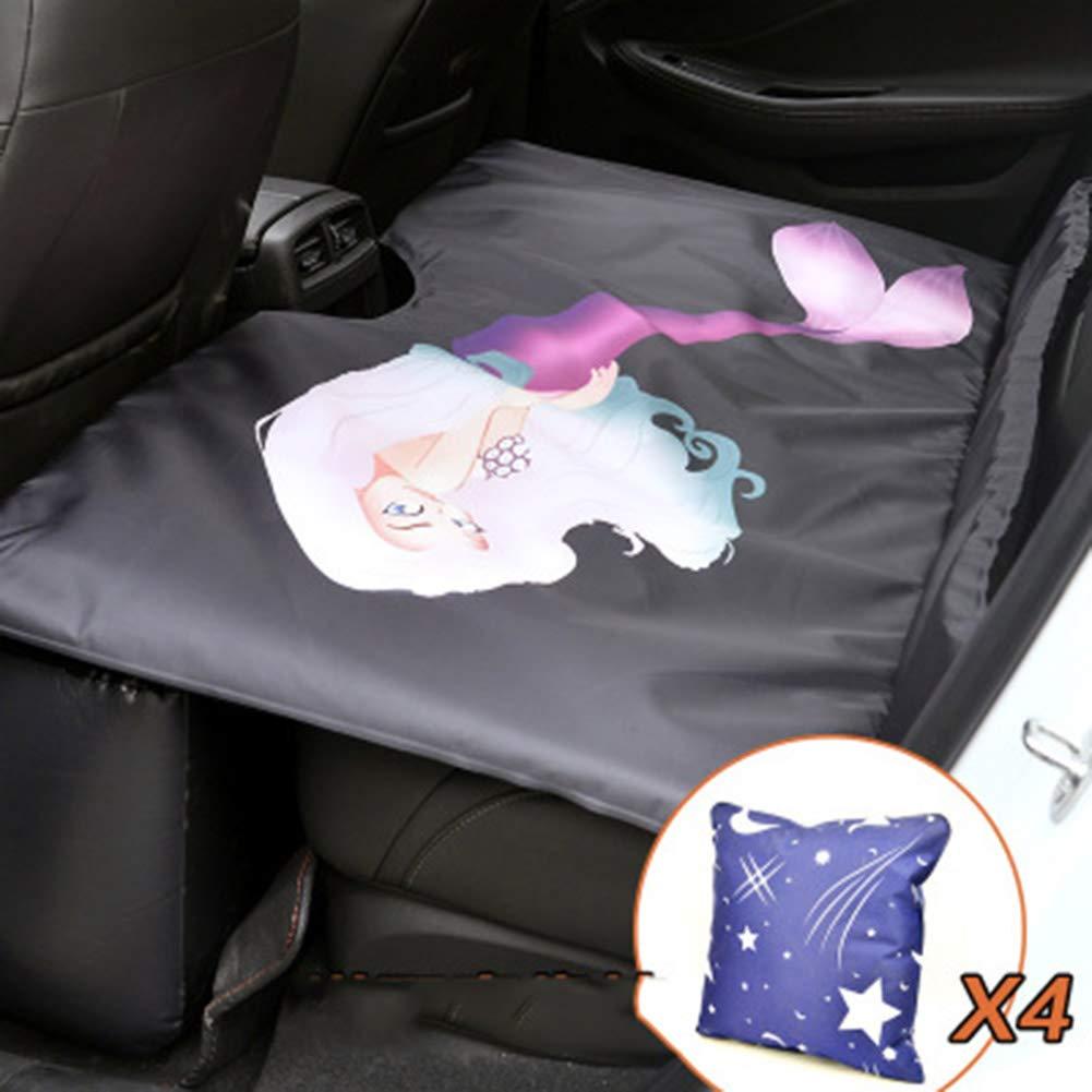 NACHEN Auto Nicht aufblasbare Reise-Bett-Autos Heck Auspuff-Pad-Bett-Heck-Sitz-Bett-Matratze faltbar