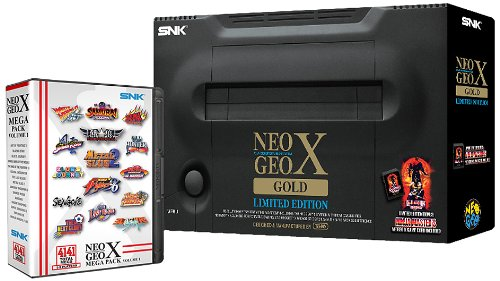 Neogeo X Gold Limited Edition and Mega Pack Vol. 1 Holiday Bundle