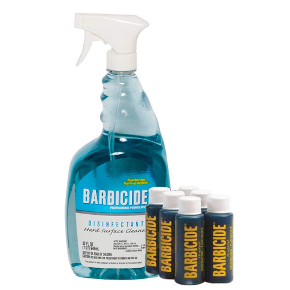 King Research Barbiside Spray Disinfectant With Bullets by King Research