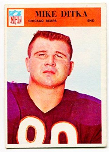 - 1966 Philadelphia Mike Ditka Card #32 Chicago Bears Pttsburgh