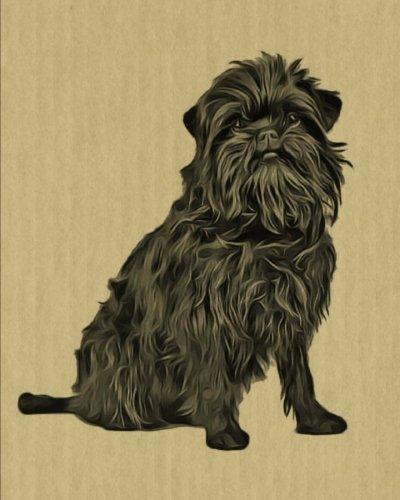 Affenpinscher: Artified Pets Dog Journal/Notebook/Diary (Artified Pets Inked Dogs) (Volume 11)
