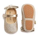 Felix & Flora Gold Baby Shoes Girl 6-12 Months