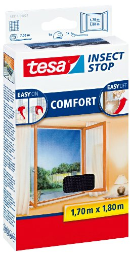 20 opinioni per TESA Insect Stop Comfort- mosquito nets (ABS synthetics, Silver, 1700 x 10 x