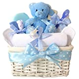Angel Baby Boys Gift Hampers Blue/Newborn Baby Shower Boy Gifts Basket/FAST DISPATCH