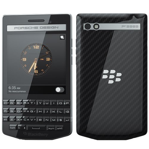 BlackBerry P'9983 Porsche Design 64GB - Factory Unlocked - International Version No Warranty - Carbon Fiber