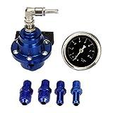 SODIAL(R) Automotive Replacement Fuel Pressure Gauges
