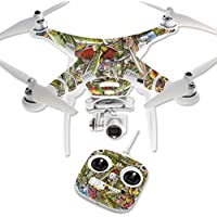 Skin For DJI Phantom 3 Standard – Fish Puzzle | MightySkins Protective, Durable, and Unique Vinyl Decal wrap cover | Easy To Apply, Remove, and Change Styles | Made in the USA