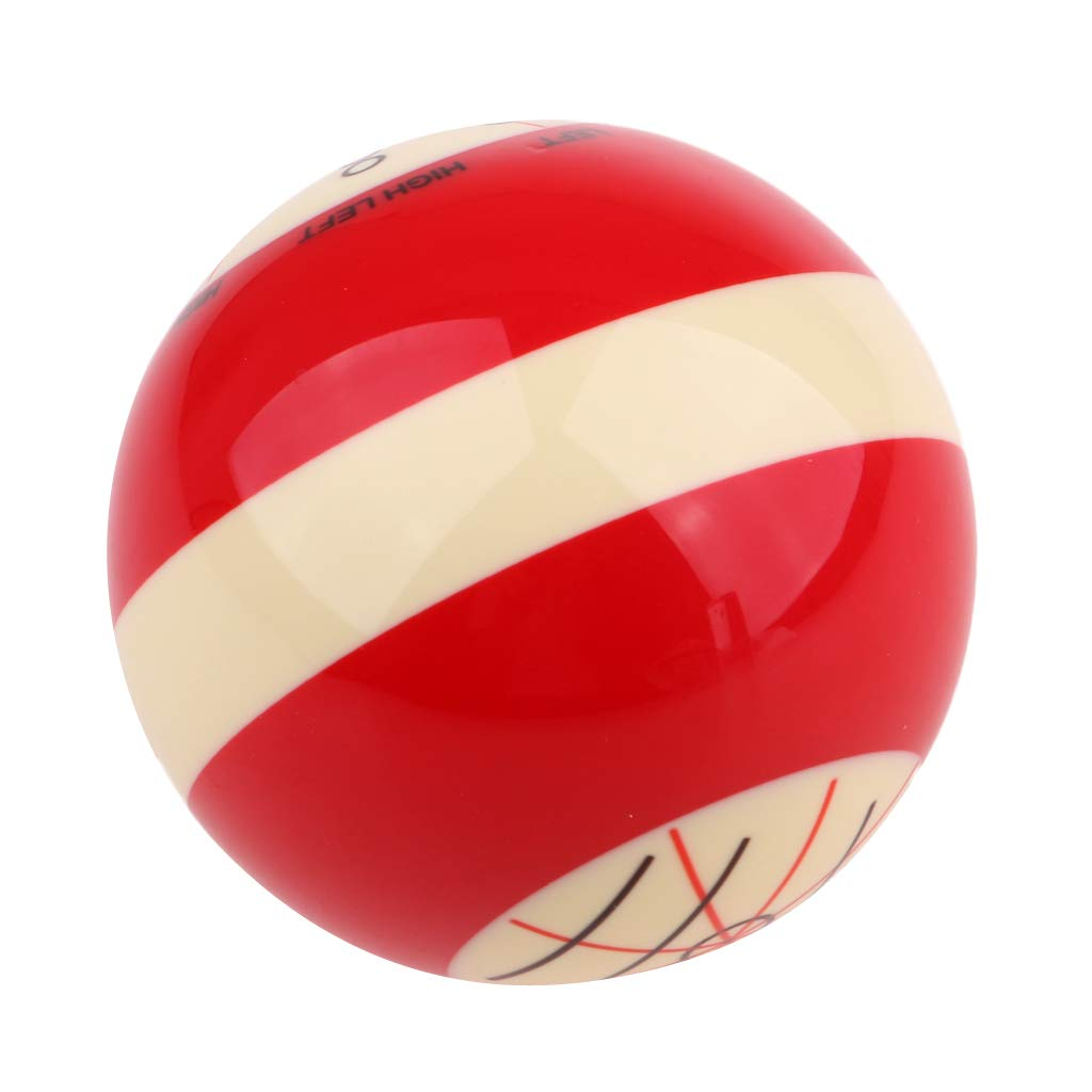 perfeclan 2 St/ücke Professionelle 2 1//4 Zoll Praxis Queue Ball Pool Billard /Üben Trainingsb/älle
