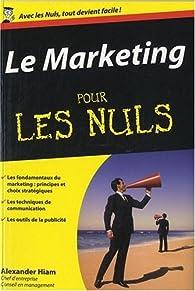 Le Marketing pour les Nuls par Alexander Hiam