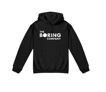 1ffcba8d Identity The Boring Company Hoodie Elon Musk Tesla Black: Amazon.co.uk:  Clothing