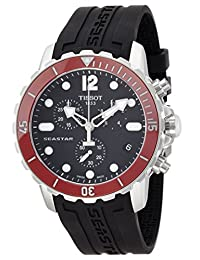 Tissot Men's Seastar 1000 Black Stainless Steel Watch