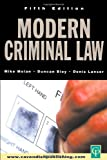 Modern Criminal Law: Fifth Edition, Mike Molan, 1859418074