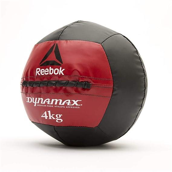 Reebok Dynamax Balón Medicinal, Negro, 4 kg: Amazon.es: Deportes y ...