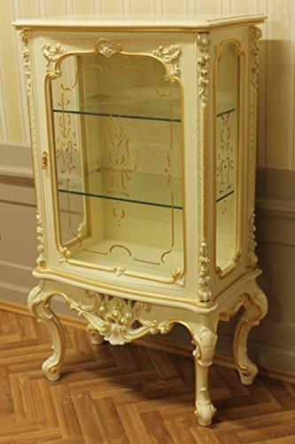 LouisXV Mobile Barocco in Vetro Bianco Antico Armadio Barocco ...