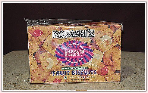Karachi Bakery's Fruit Biscuits