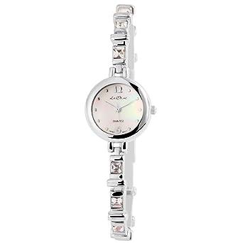Bonito Reloj para Mujer nacarado Blanco, Movimiento de ...
