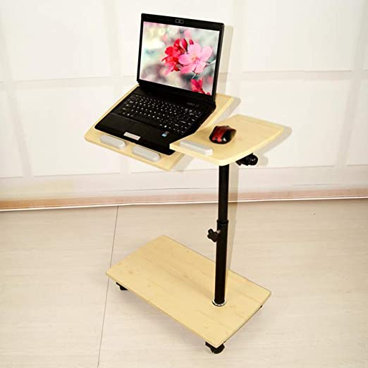 Escritorio extraíble para la computadora Se puede inclinar Mesa ...