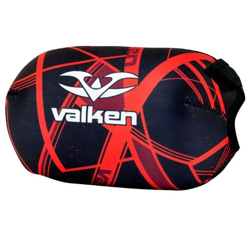 Valken Crusade Hatch Bottle Cover, Red, 45 by Valken