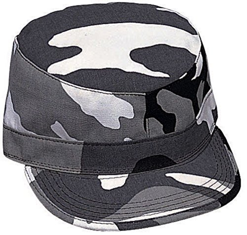 New Camouflage Solids Military Patrol Hat Fatigue Cap Army Navy Air Force Marine ()
