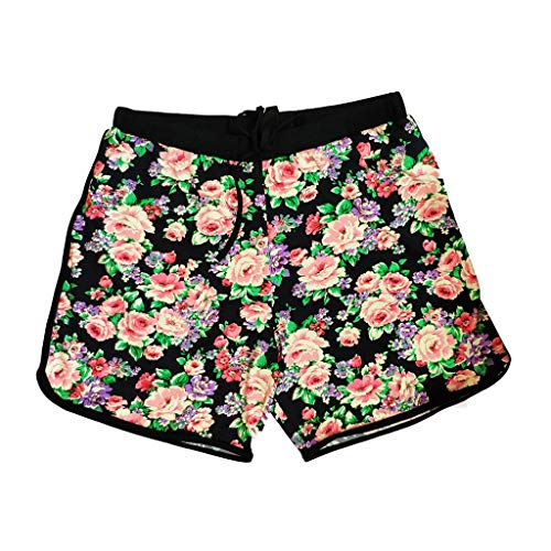 Men's Softly Distressed Floral Swim ()