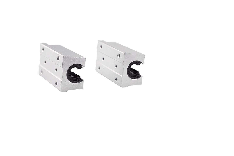 43,31inches 12mm guida lineare completamente supportata CNC di guida lineare SBR12 1100mm 2pcs SBR12LUU Block Bearing