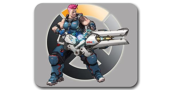 Zarya Mousepad - Overwatch Blizzard by Tora Store: Amazon.es ...