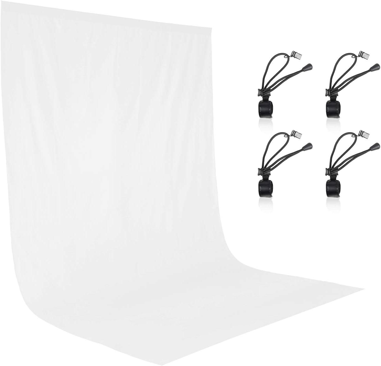 Chromakey Backdrop 6x9 Muslin Video Photo Background White Backdrop Screen
