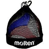Molten–Bolsa Single Voleibol/Balón de fútbol, color negro