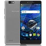 "Multilaser P9036, Smartphone 4G Dual Chip Android 6. 0 Tela 5.85"" Octa-Core 64Gb Dual Câmera 16Mp+8Mp, Prata"