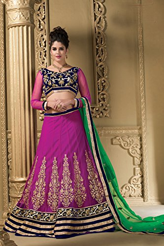 Facioun Choli Indian Partywear Da Ethnic Designer Wedding Purple Lehenga Traditional Bnvpx8ap