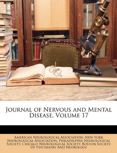 Journal of Nervous and Mental Disease, Volume 17 pdf epub