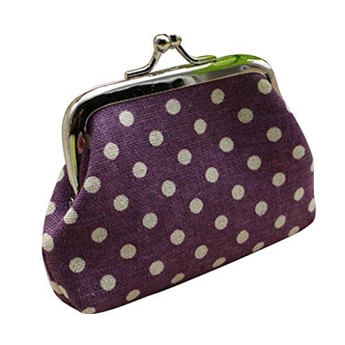 Femmes E embrayage petit Portefeuille sac à monnaie porte cartes point monnaie YUYOUG porte Femmes sac porte main q44wxpTEa