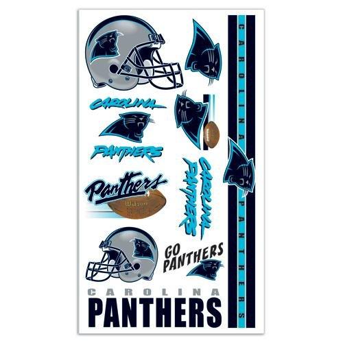 WinCraft NFL Carolina Panthers 09433012 Tattoos]()