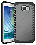 Galaxy A5 [2016] Case, Cocomii® [HEAVY DUTY] Shield Case *NEW* [ULTRA VULCAN ARMOR] Premium Shockproof Cushion Bumper [MILITARY DEFENDER] Full-body Rugged Dual Layer Hybrid Cover (Gray) ★★★★★