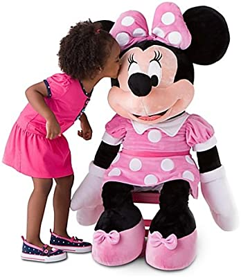 Amazon Com Disney Store 42 Minnie Mouse Plush Toy Extra Large