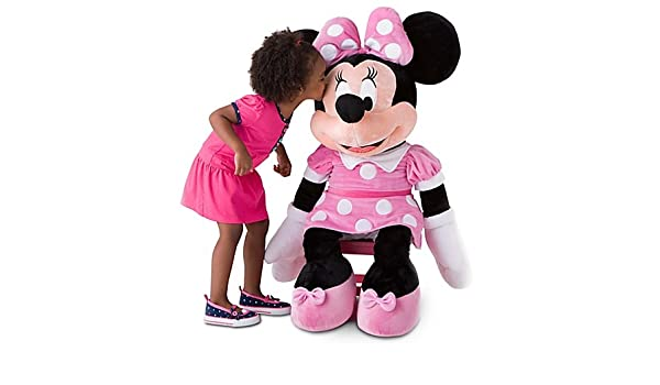 Amazon.com: Disney, Giant Minnie Mouse Plush Soft Stuffed Doll Toy -- 42 H: Toys & Games