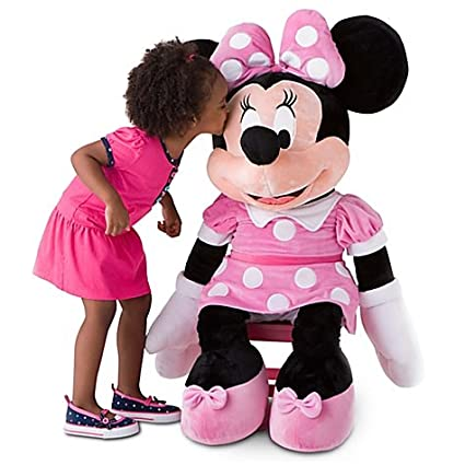 Disney, Giant Minnie Mouse Plush Soft Stuffed Doll Toy -- 42 H