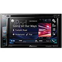 PIONEER AVH-X2800BS 6.2 Double-DIN In-Dash DVD Receiver with Bluetooth(R), Siri(R) Eyes Free, SiriusXM(R) Ready, Spotify(R) & AppRadio One(TM)