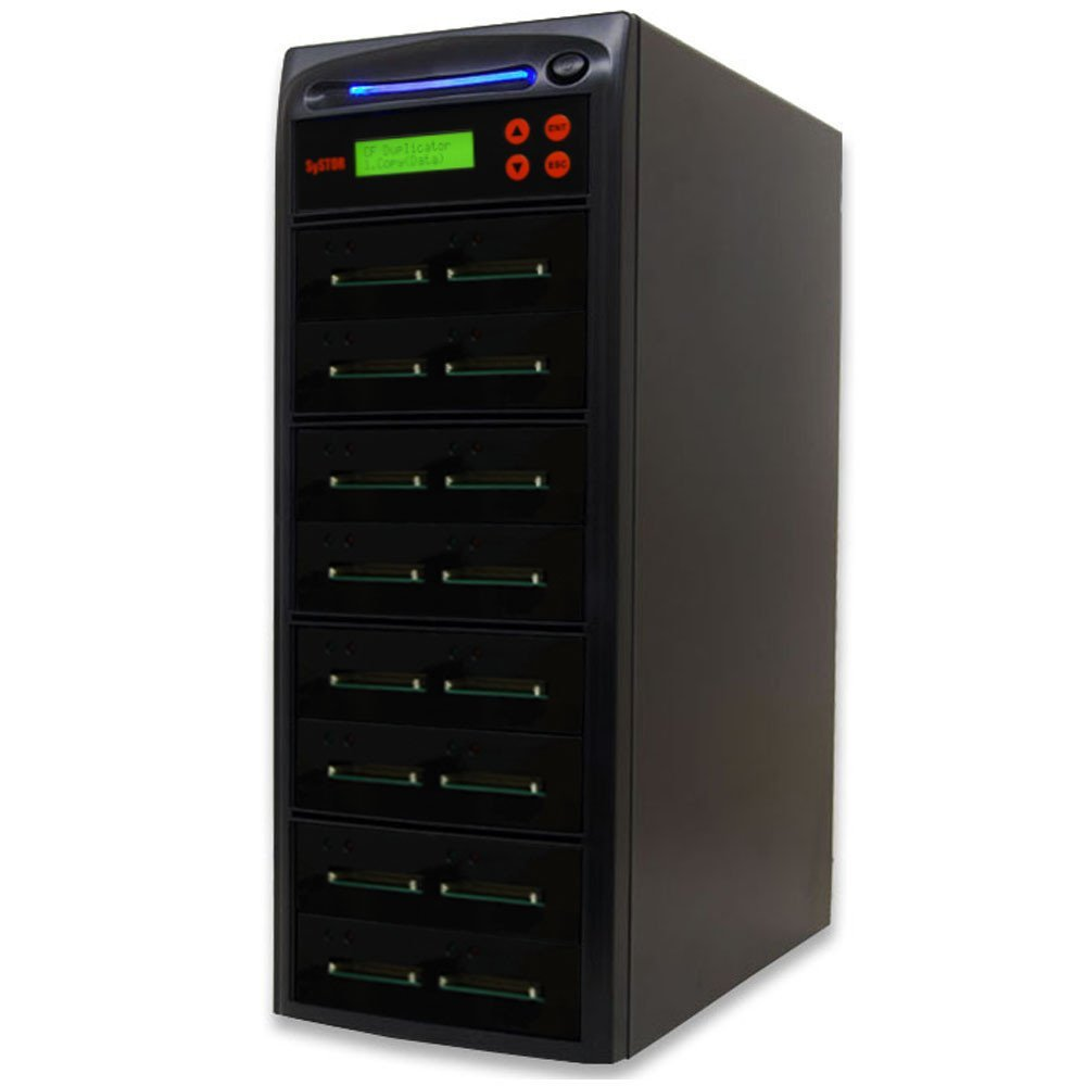 Systor 1 to 15 Multiple Compact Flash CF Memory Card Duplicator / Drive Copier - SYS-CFD-15