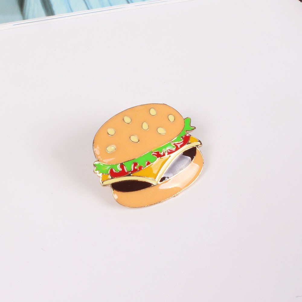 Onnea Enamel Brooch Pin Set Brooches Patches for Clothes/Bags/Backpacks (Fast food pin set) by Onnea fashion (Image #3)