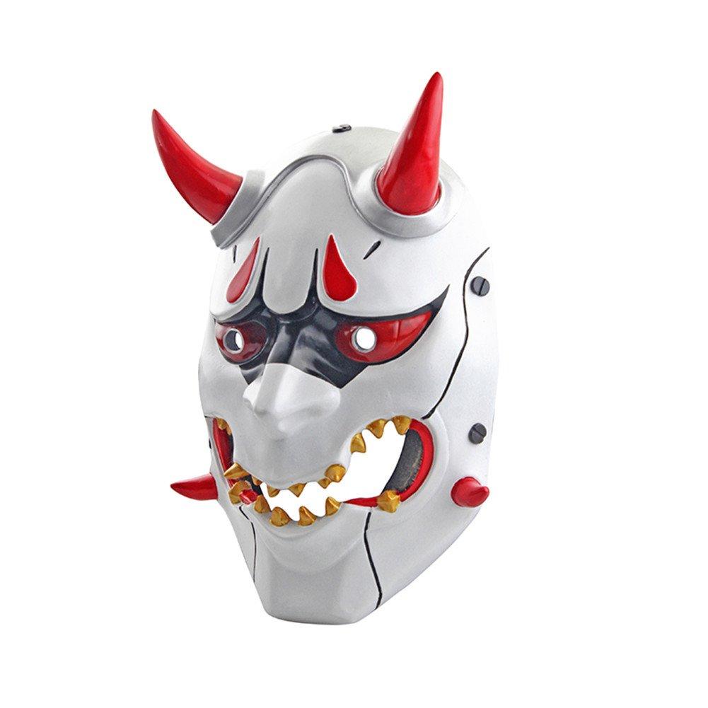 Payday 2 Tema Terror Cosplay Party M/áscara Wolf CCOWAY Halloween M/áscara